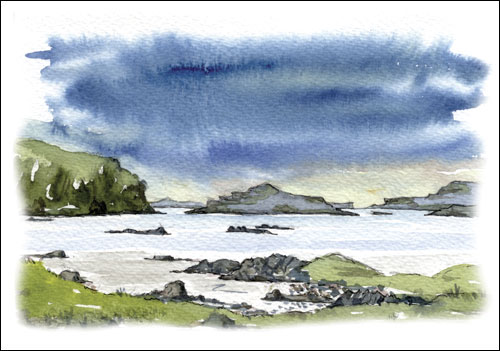 Loch Na Keal and Ulva, Isle of Mull