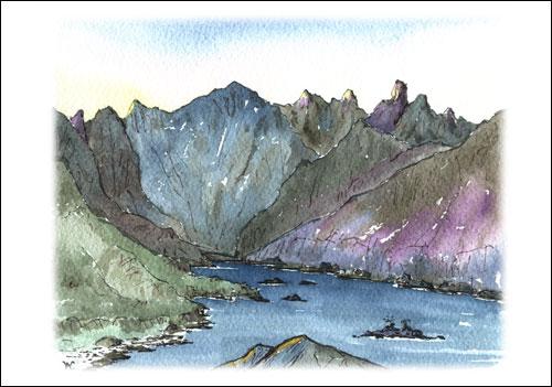 Cuillin Ridge, Isle of Skye