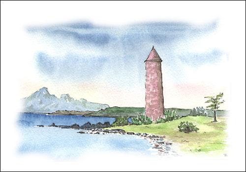 The Pencil, Largs, Ayrshire