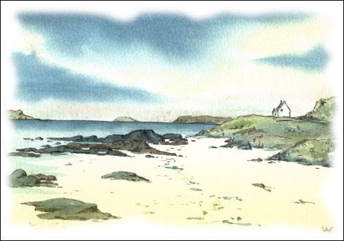 Kildonan Sands, Isle of Arran