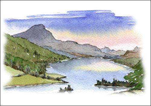 Queen\'s View, Loch Tummel, Perthshire