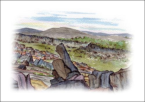 Higgar Tor, Peak National Park # 1