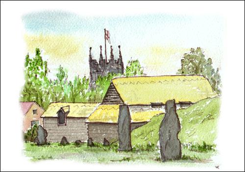 Standing Stones, Avebury, Wiltshire