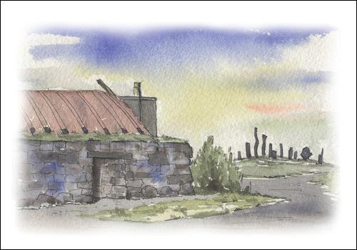 Black House, Callanish, Isle of Lewis