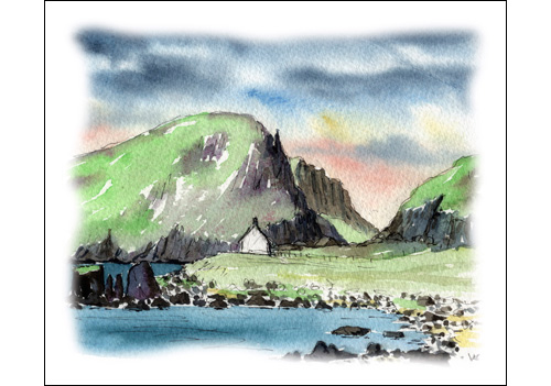 Bothy on Shiant Isles, Outer Hebrides