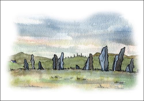 Callanish Standing Stones, Isle of Lewis #2