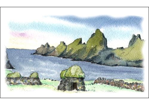 Cliets, Village Bay, St. Kilda