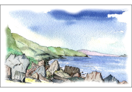 Fallen Rocks, Sannox, Isle of Arran