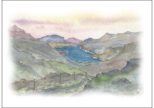 Loch Maree from Achnasheen Road, Wester Ross
