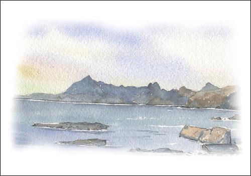 Loch Scavaig from Elgol, Isle of Skye