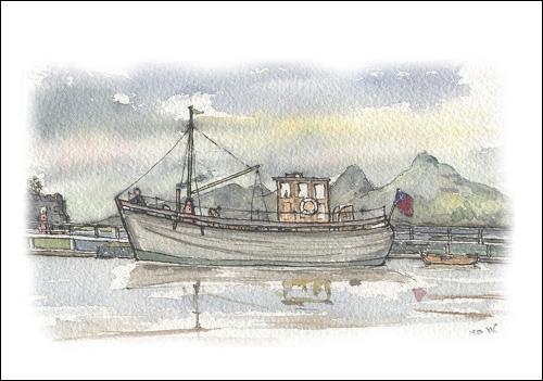 MFV Marellan, Crinan Canal, Argyll