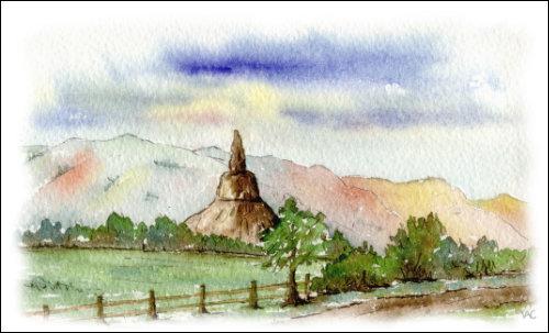 Chimney Rock, Scotts Bluff, Nebraska #2