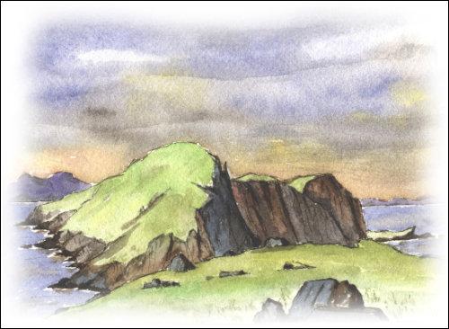 Shiant Islands, Minches, Outer Hebrides
