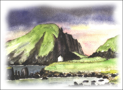 Shepherd\'s Bothy, Shiant Islands, Minches, Outer Hebrides
