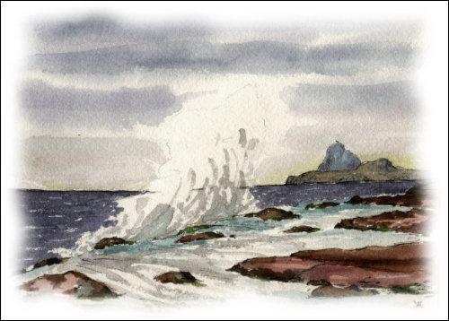 Shore at Corrie, Isle of Arran