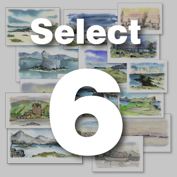Select Any 6 Cards